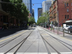 Melbourne City and Tram