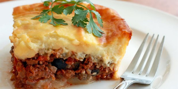 Moussaka in Greece