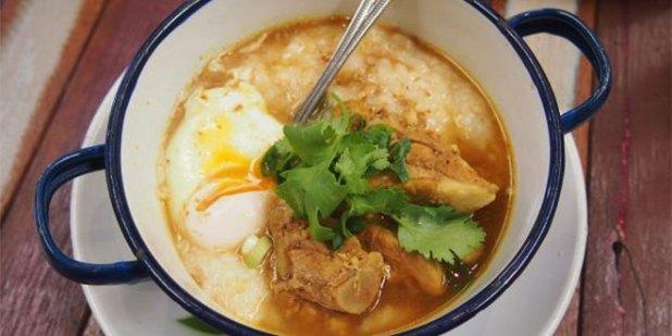 Thai-styled porridge
