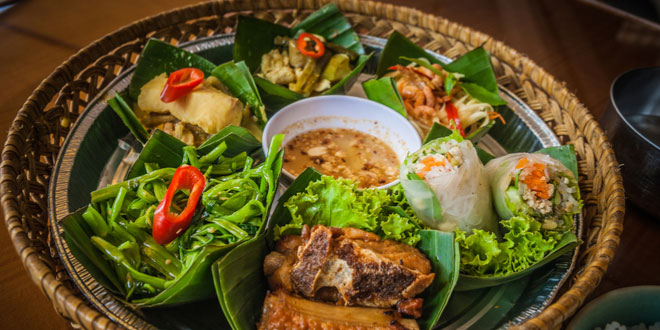 Fish Amok, one of the most delicious Khmer dishes in Cambodia