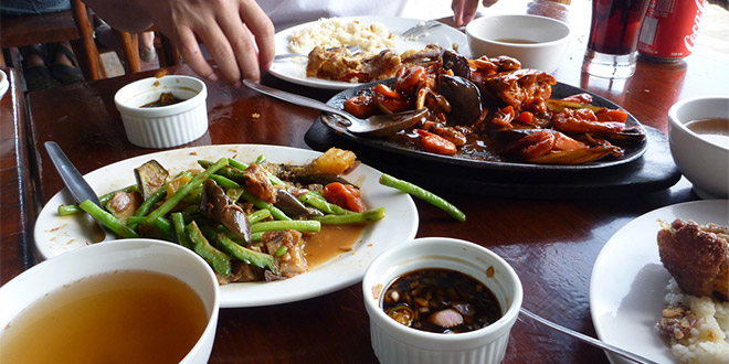 An array of some must-try foods in Tagaytay, Philippines