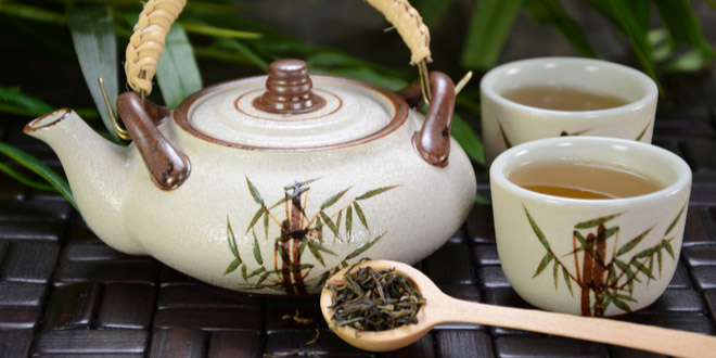 Herbal tea, one of the most Popular chinese drinks