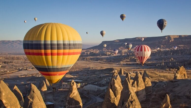 cappadocia air balloon ride