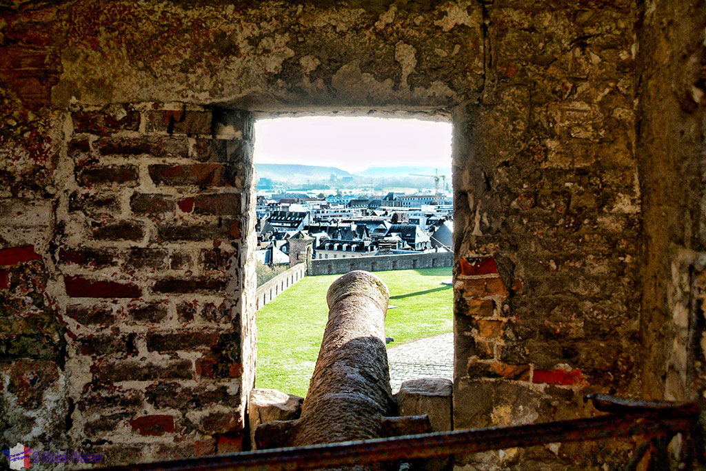 Cannon in the Dieppe castle