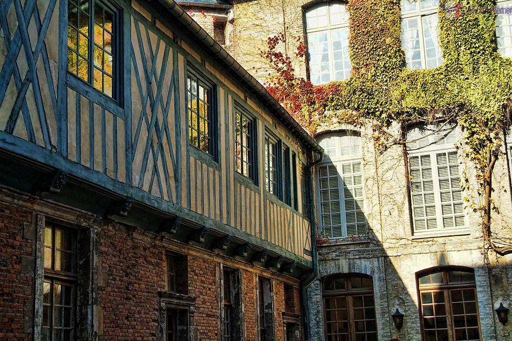 The museum part of he Dieppe castle