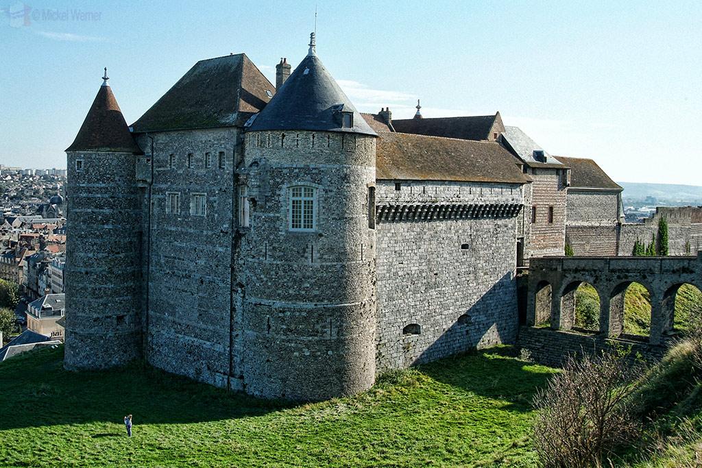 Dieppe's castle/fortress