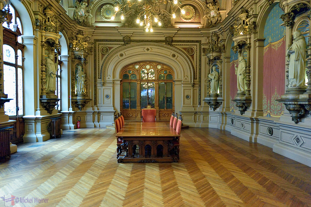 Benedictine palace dining room