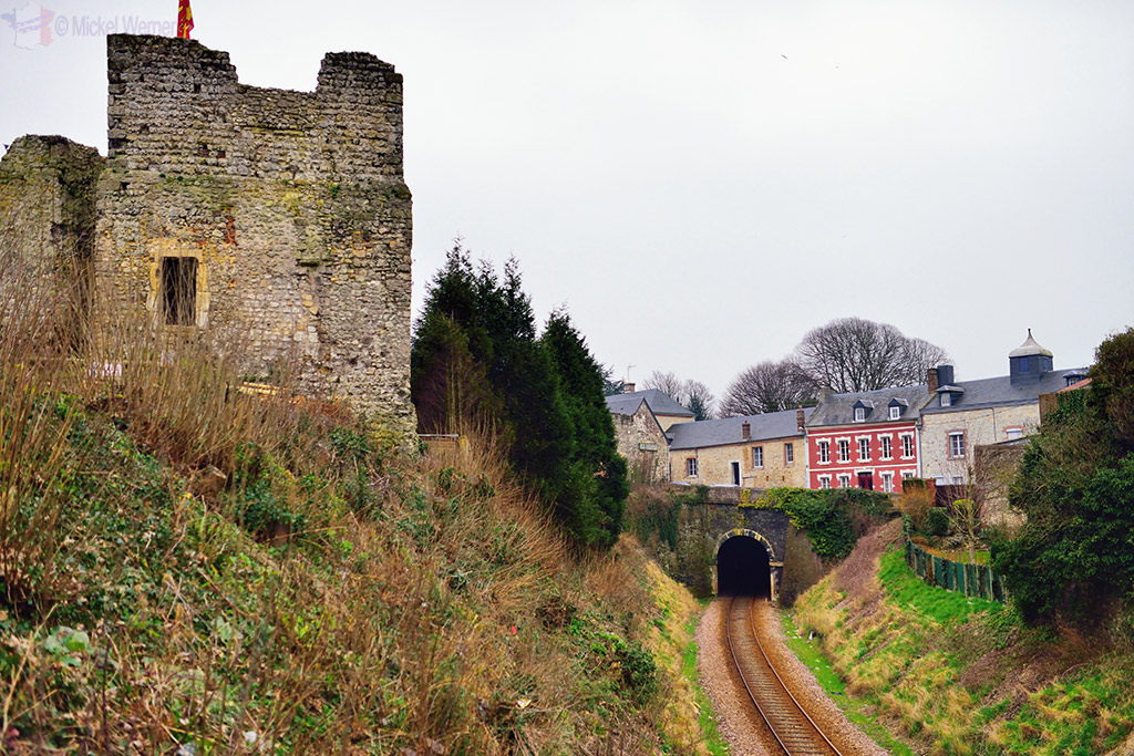 Fecamp's Duke of Normandy castle