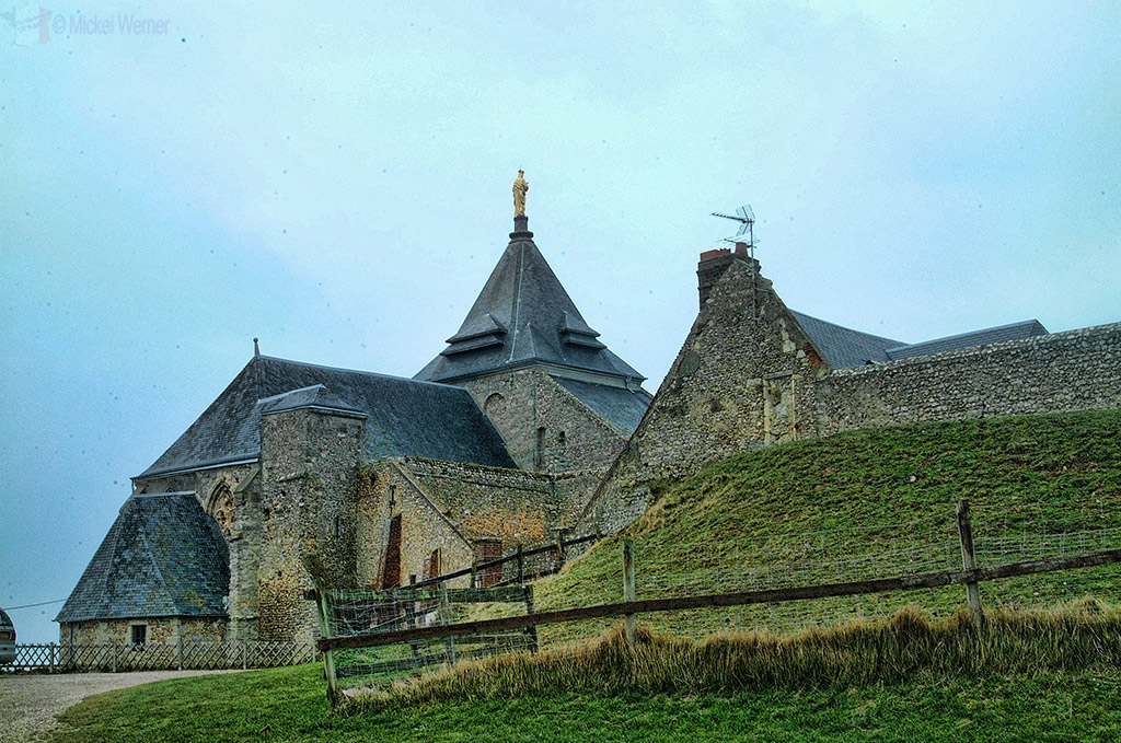 Fecamp's farm and chapel converted to hotel on the cliffs