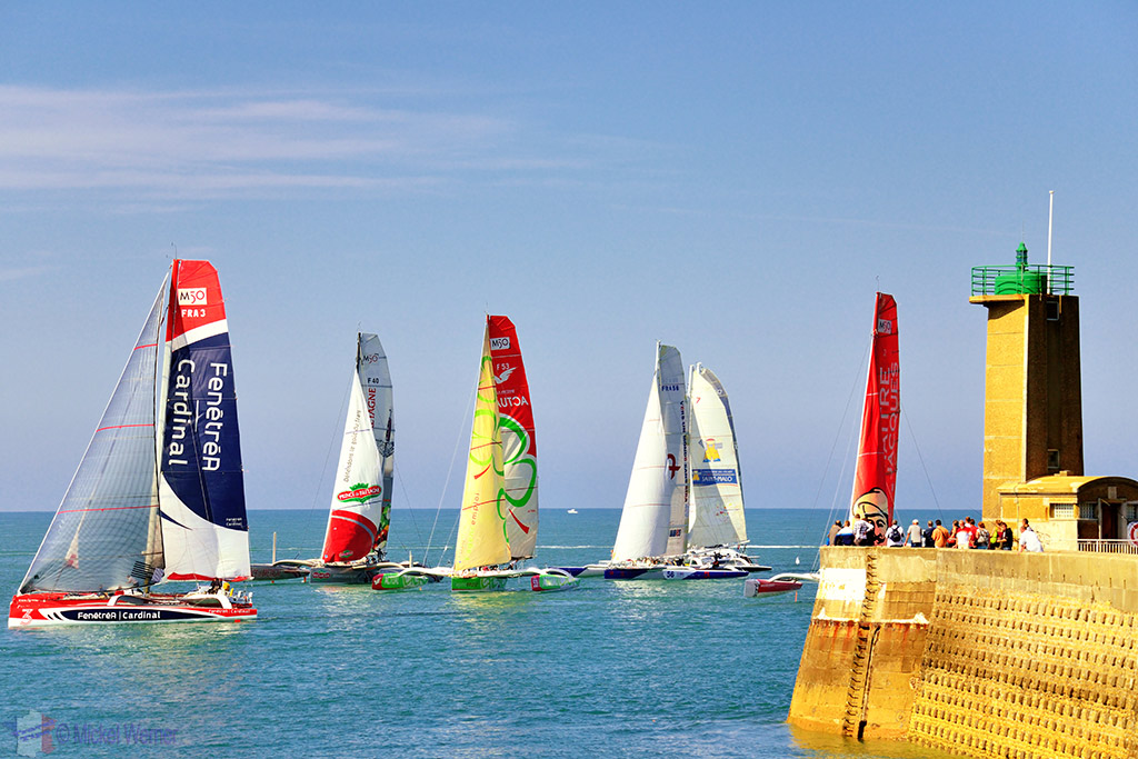 Sailing competition of Fecamp