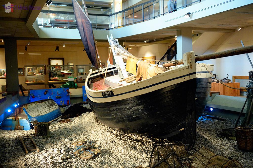 The Musée des Terre-Neuvas et de la pêche (Newfoundland museum) if Fecamp