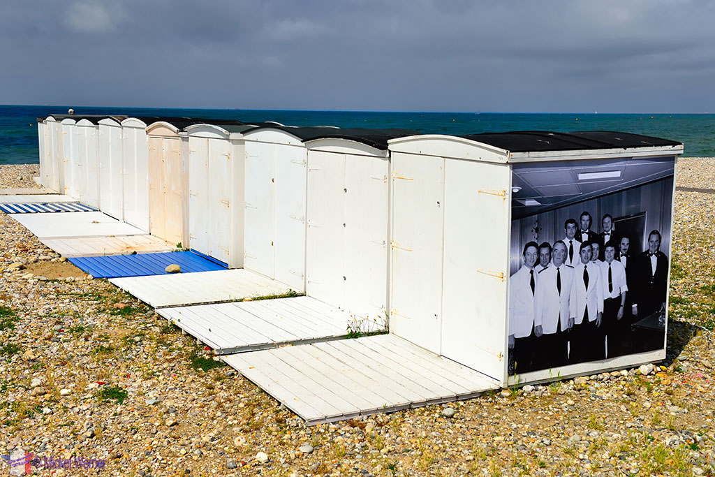 Le Havre beach huts
