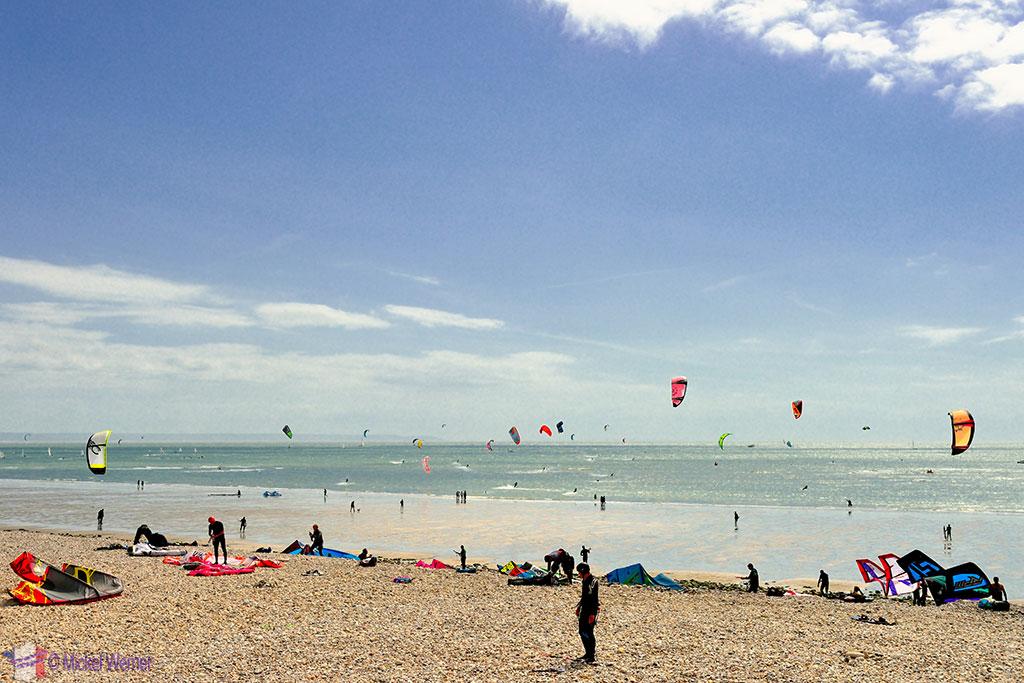 Le Havre kite surfing