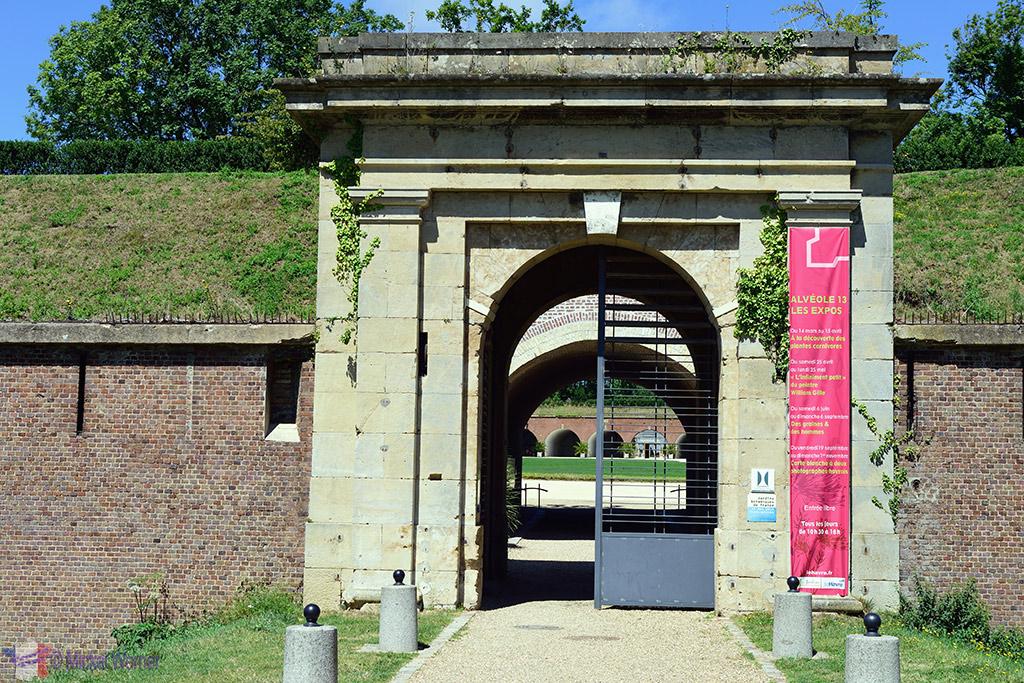Jardin Suspendu's Fort Entrance at Le Havre