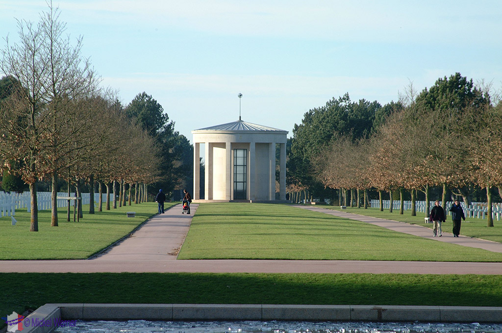 Omaha cemetery chapel