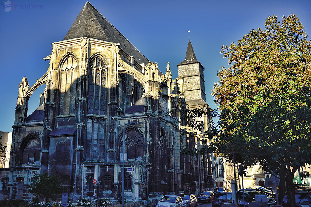 Saint Eloi Temple in Rouen