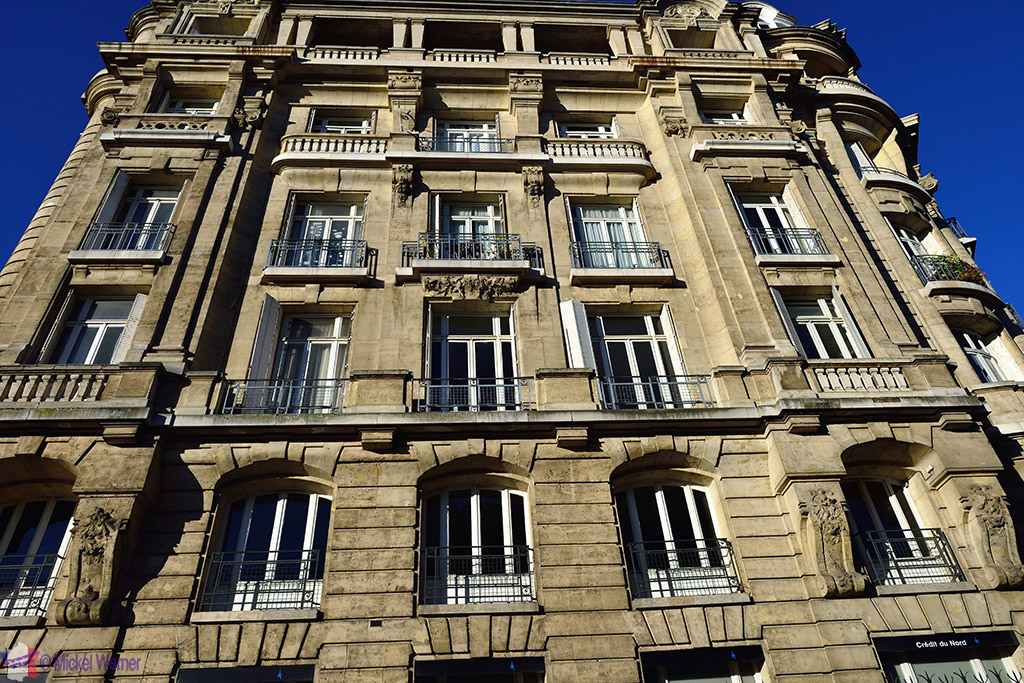 """Modern"" building in Rouen"