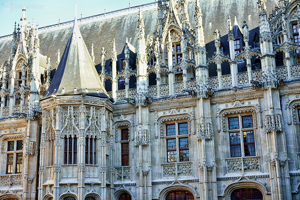 The Courts in the Justice Palace of Rouen