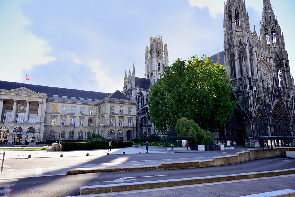 Rouen City Hall and Abbey