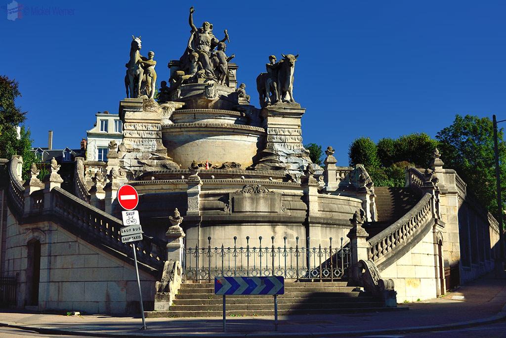Sainte-Marie fountain in Rouen