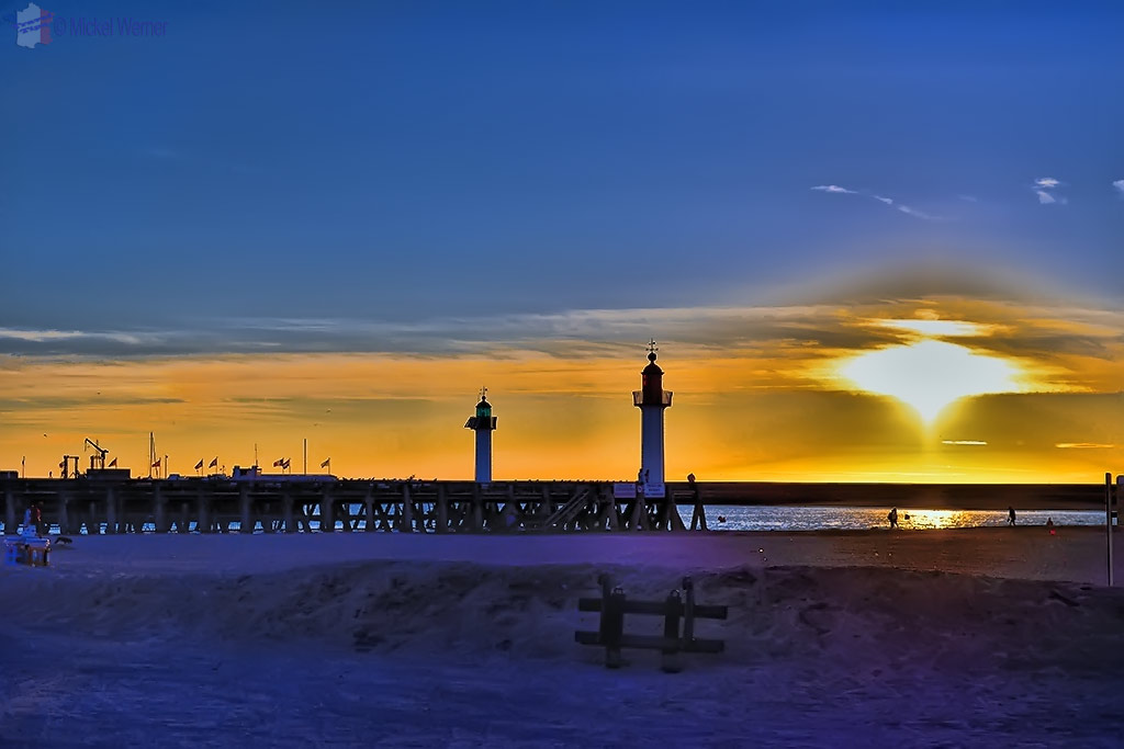 2 lighthouses of Trouville-sur-Mer