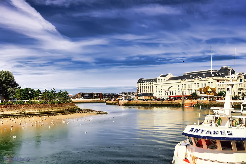 River and casino of Trouville-sur-Mer