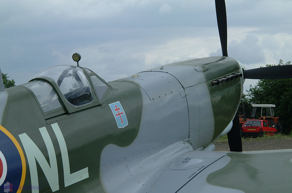 La Ferte Alais aeronautical show, WWII aircraft