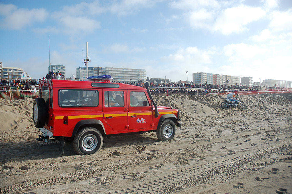 Paramedics at Le Touquet Enduropale