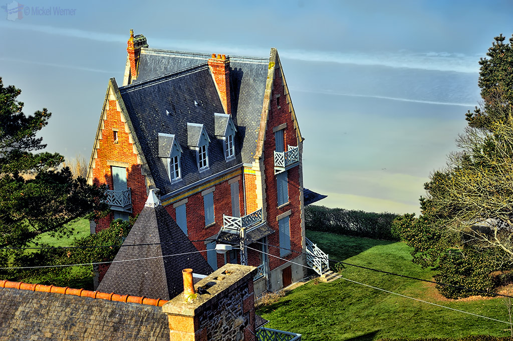 Mansion on the coast of Perros-Guirec