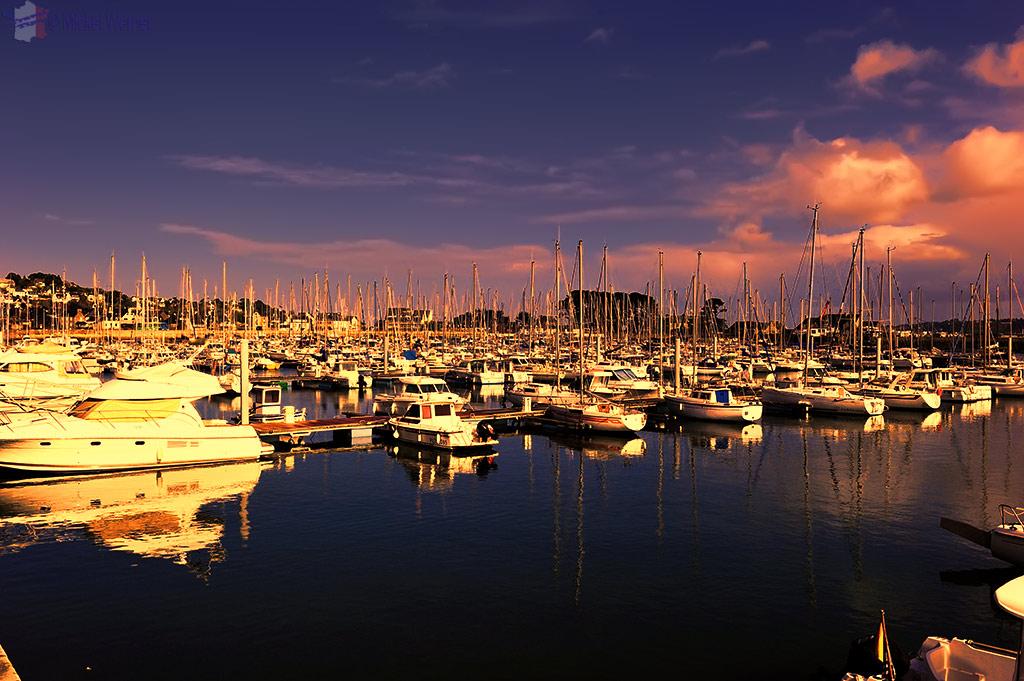 Pleasure boats marina of Perros-Guirec