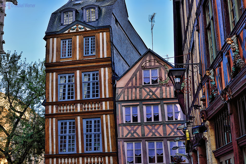 Old house in Rouen city centre