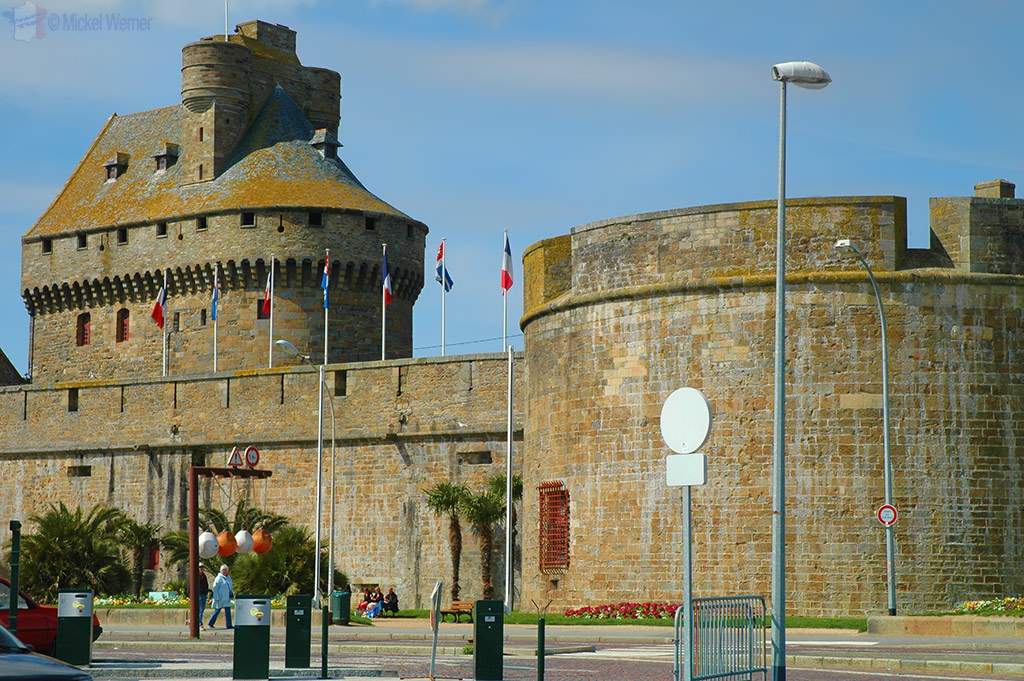 The fortress of St. Malo