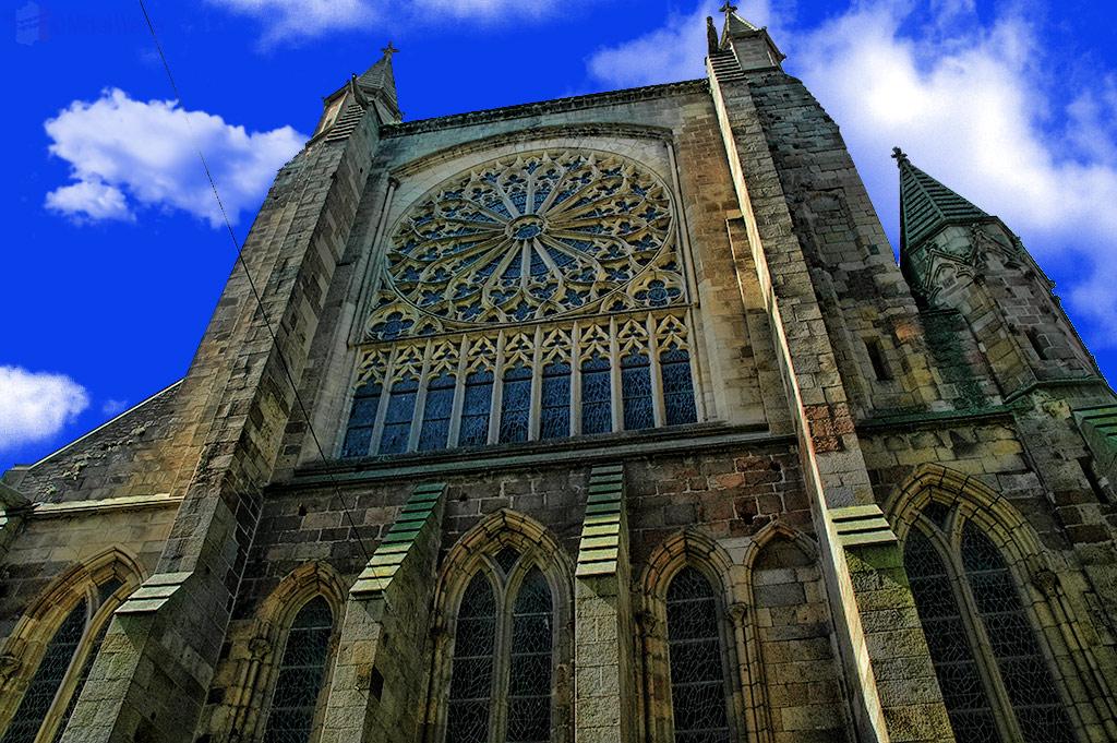 Saint-Vincent-de-Saragosse de Saint-Malo cathedral of St. Malo