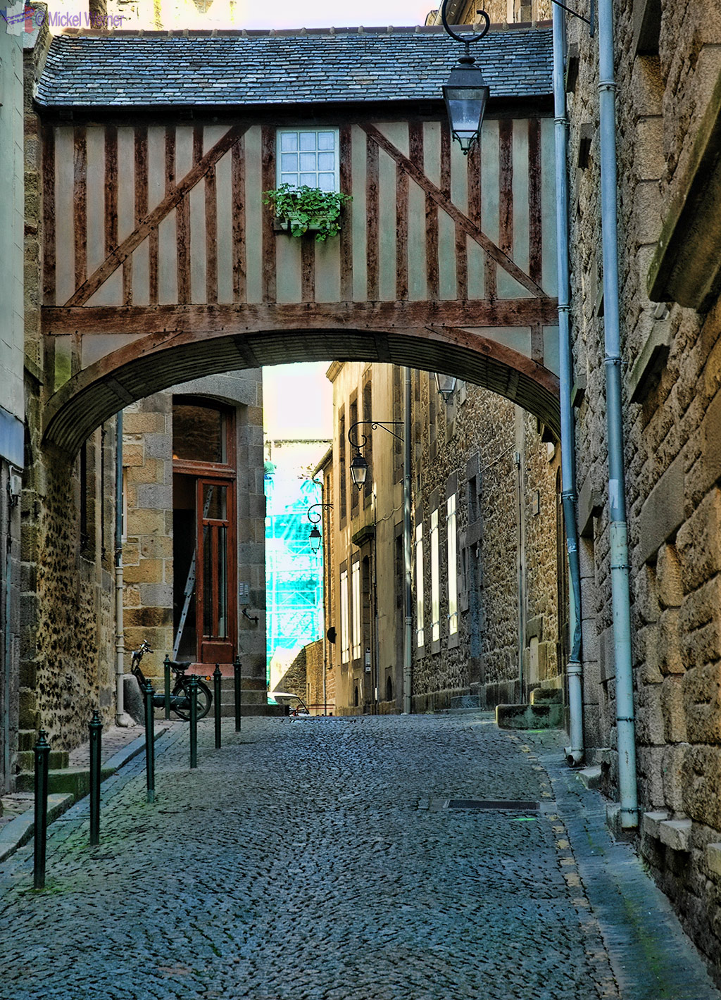 Inside the walled city of St. Malo