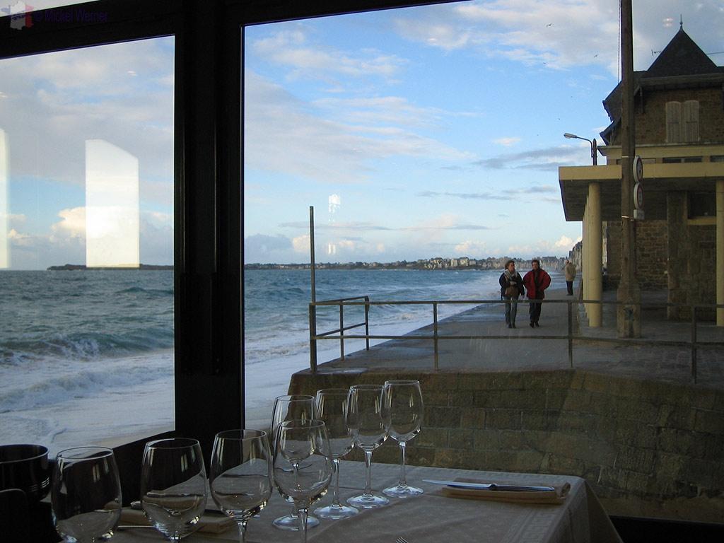St. Malo – Restaurants – Brasserie du Sillon