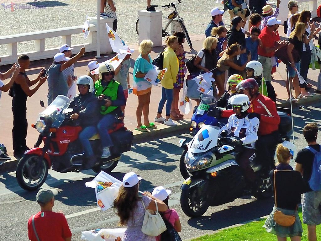 Press photographers on the Tour de France