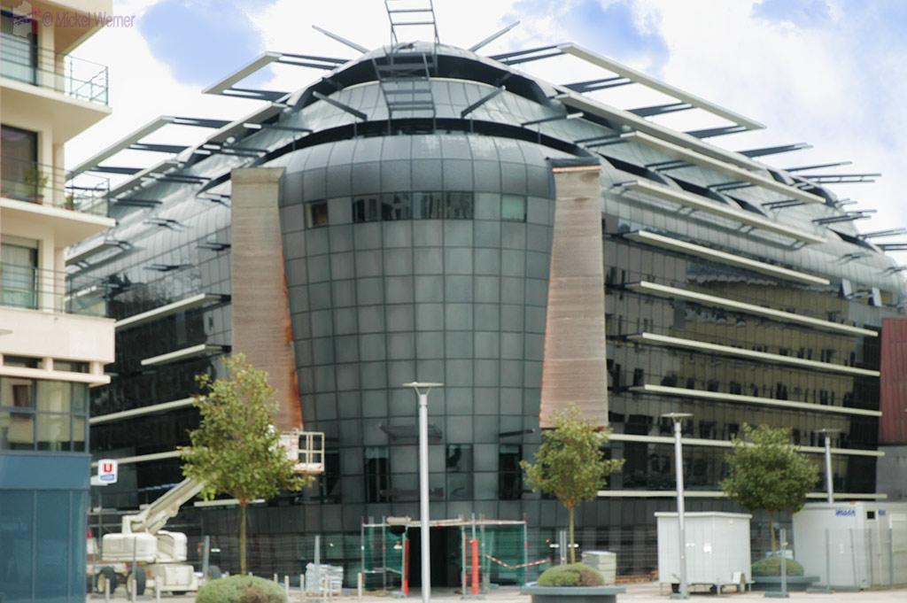 Very modern building in Caen