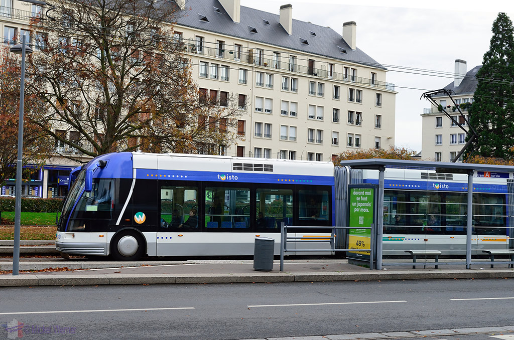 Tram/Trolley bus system of Caen