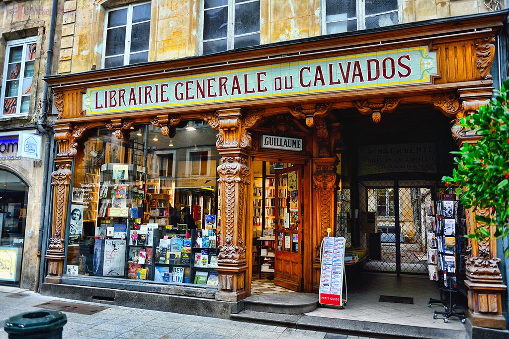 Old book shop in Caen