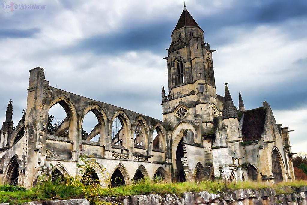 St. Etienne-Le-Vieux church in Caen