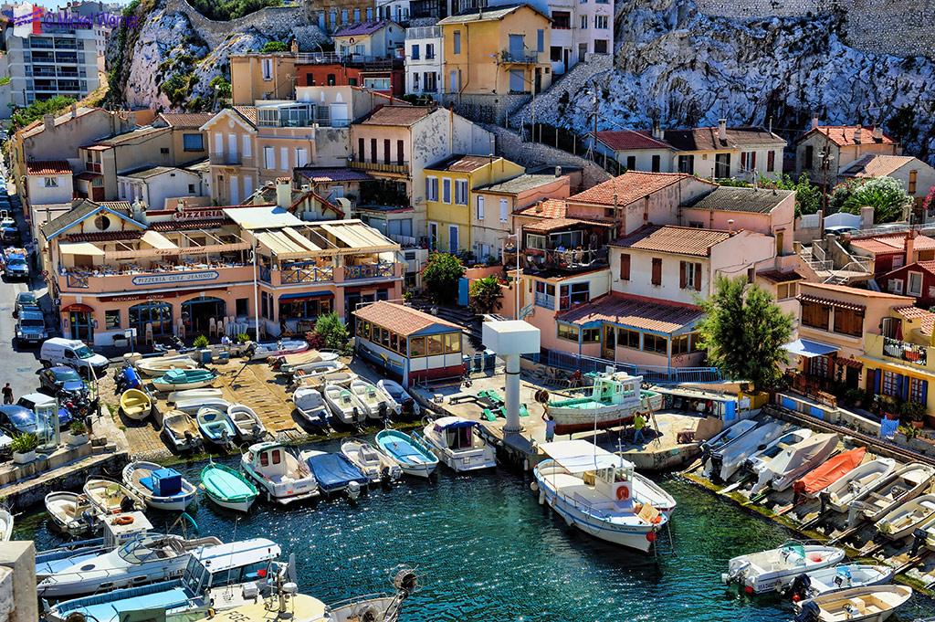 Le Vallon des Auffes harbour in Marseilles