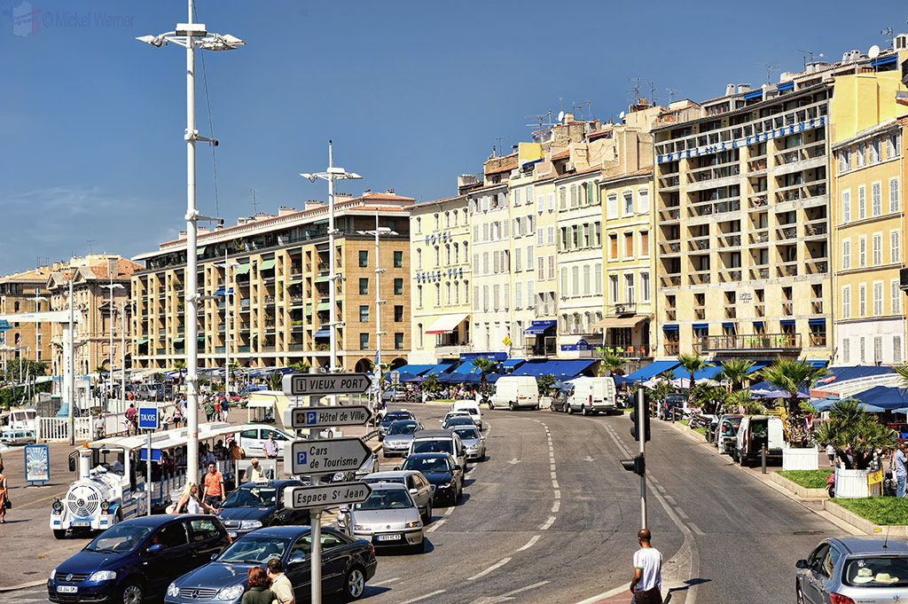Vieux Port (Old Harbour) restaurants of Marseilles