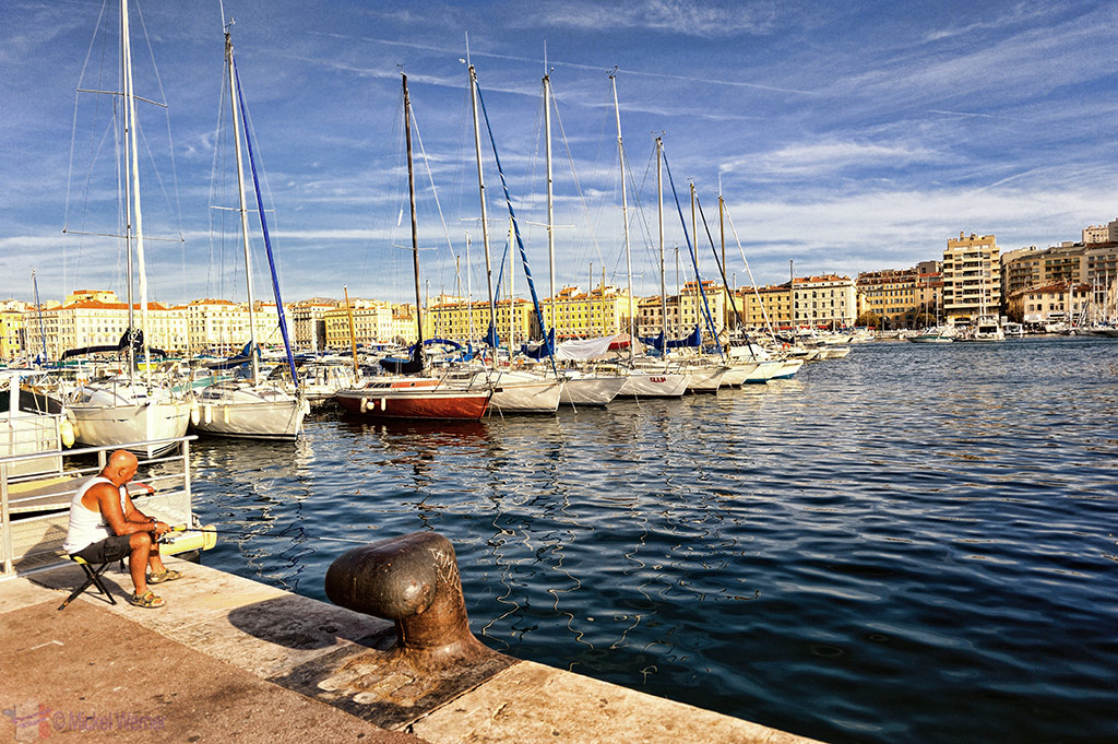Vieux Port (Old Harbour) of Marseilles