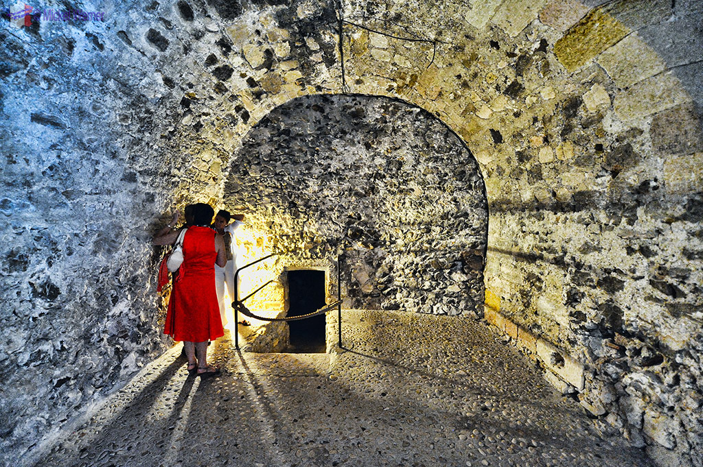 The prison of the Chateau d'If at Marseilles