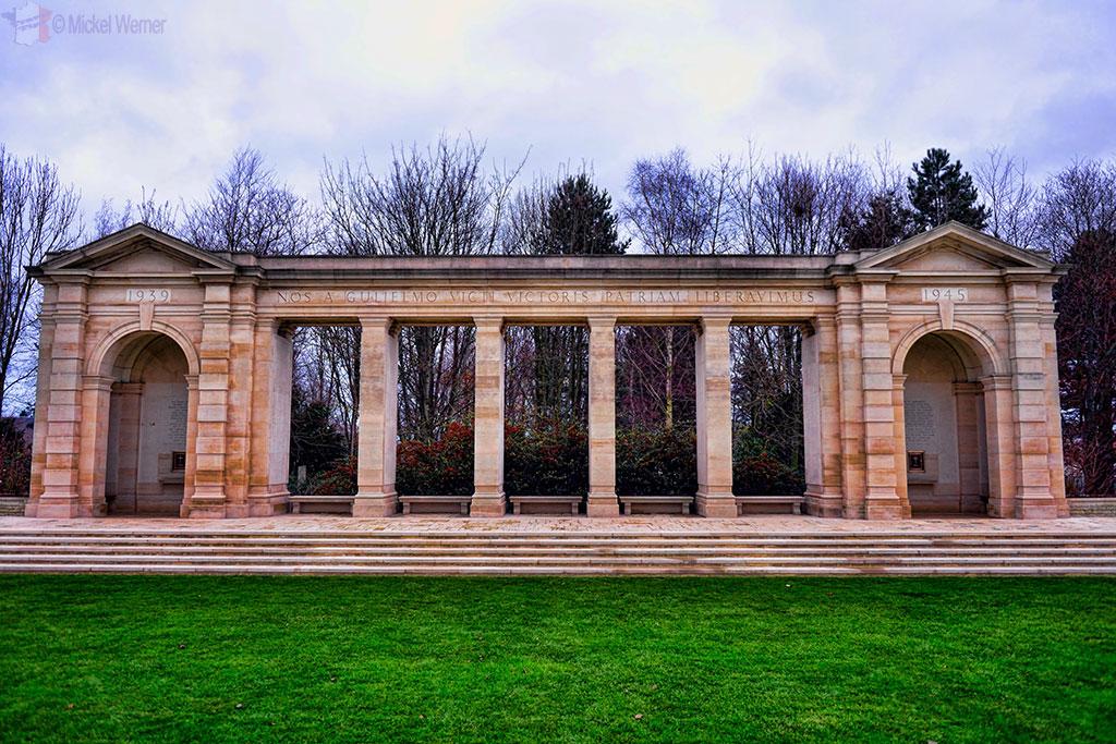 British War Cemetery of Bayeux Memorial