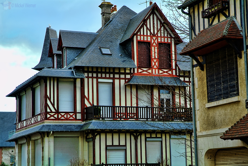 Deauville houses