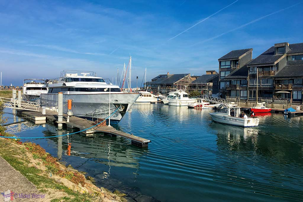 Deauville private marina and yachts
