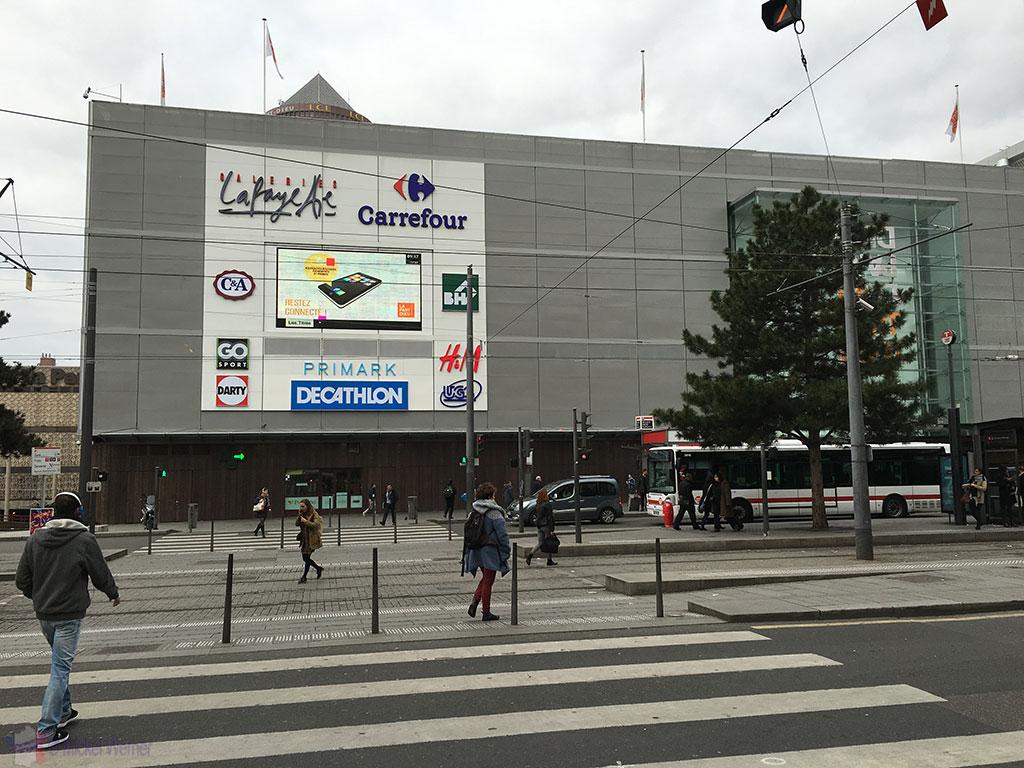 The Part-Dieu shopping centre of Lyon