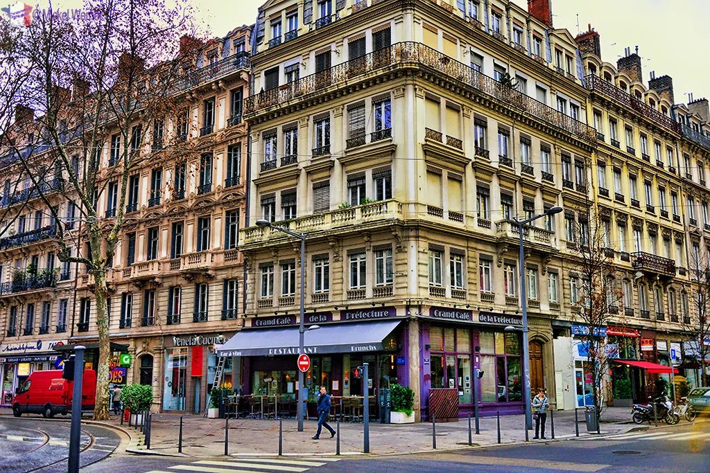 Buildings in Lyon