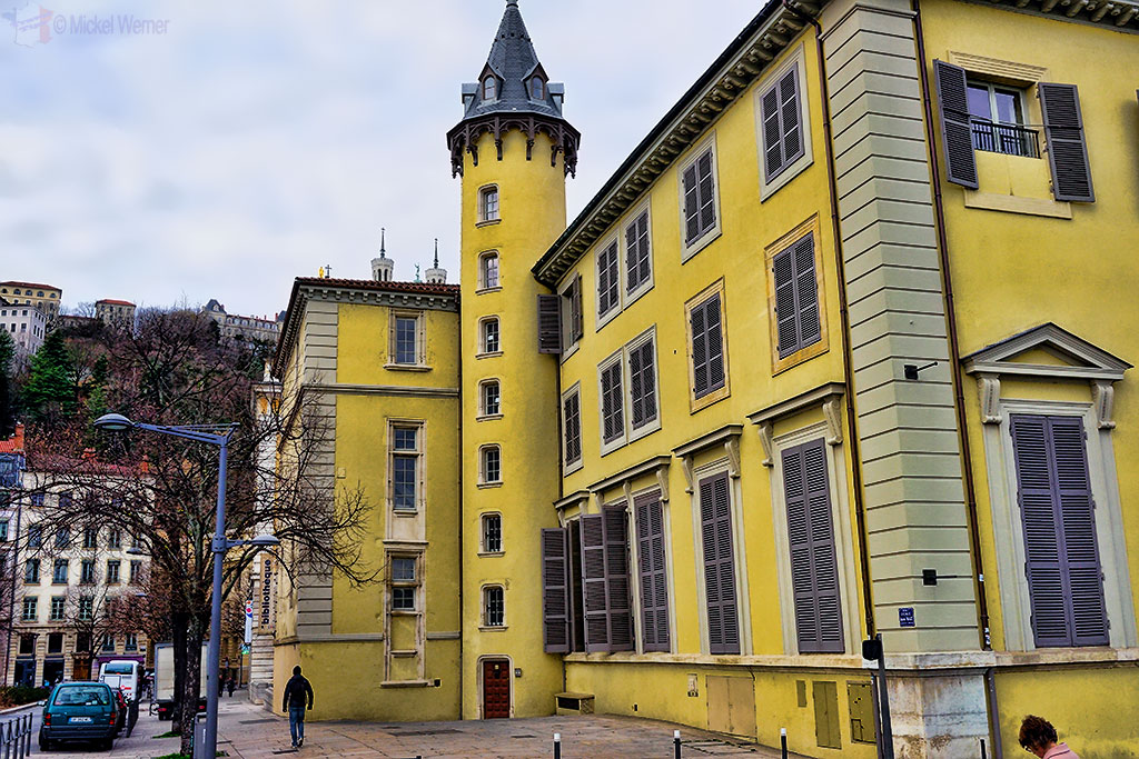 Episcopal Palace Saint-Jean and the municipal library